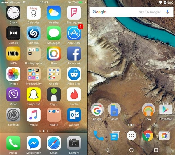 iOS 9与Android 6.0哪个好 iOS9与Android 6.0全方位对比